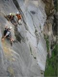 Klettersteig az Alpok legkiépítettebb részein